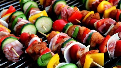 https://pixabay.com/en/shish-kebab-meat-skewer-417994/