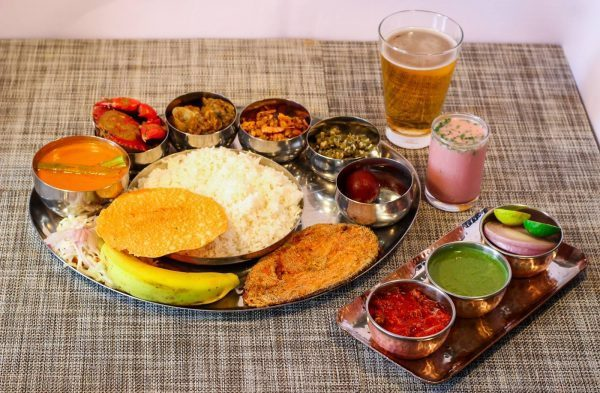 food-fishthali-itsgoa-thali-copperleaf-restaurant-monsoon