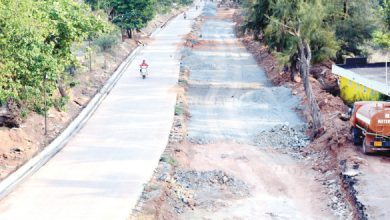 Dona Paula-Miramar , Road developement project in Goa
