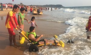 Wheelchair Users Enjoy an Accessible Beach Experience in Goa