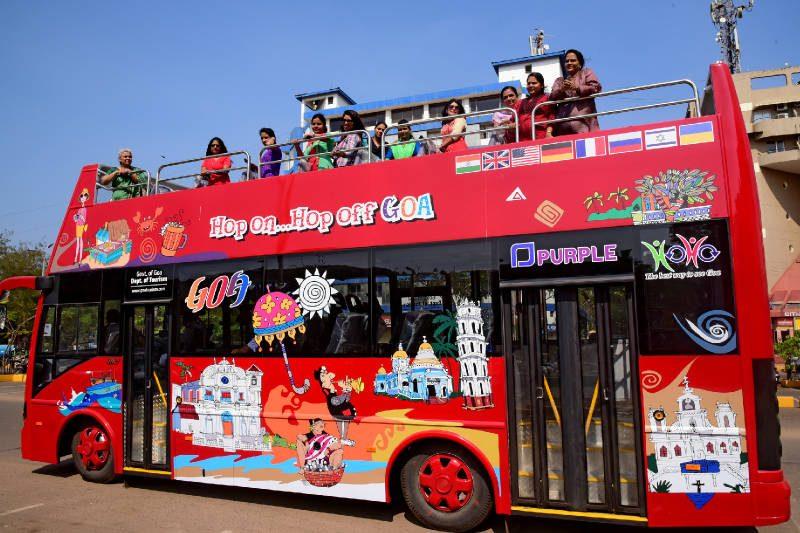 HOHO Bus Goa