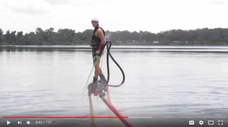 Flyboarding instruction