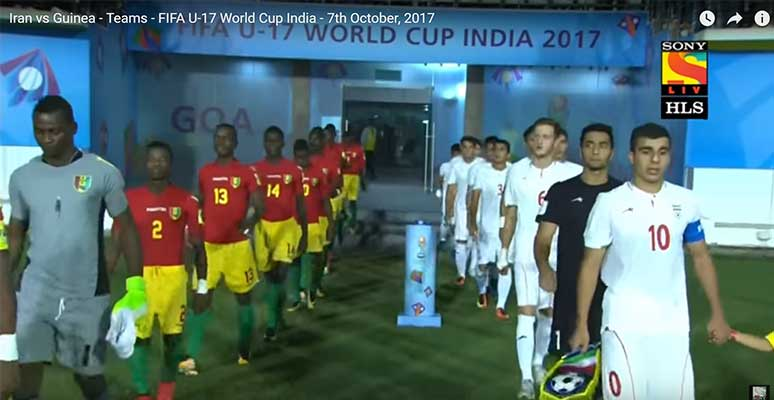 Goan-made goalkeeper jerseys at FIFA U 17
