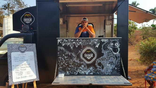 Vagator Food truck