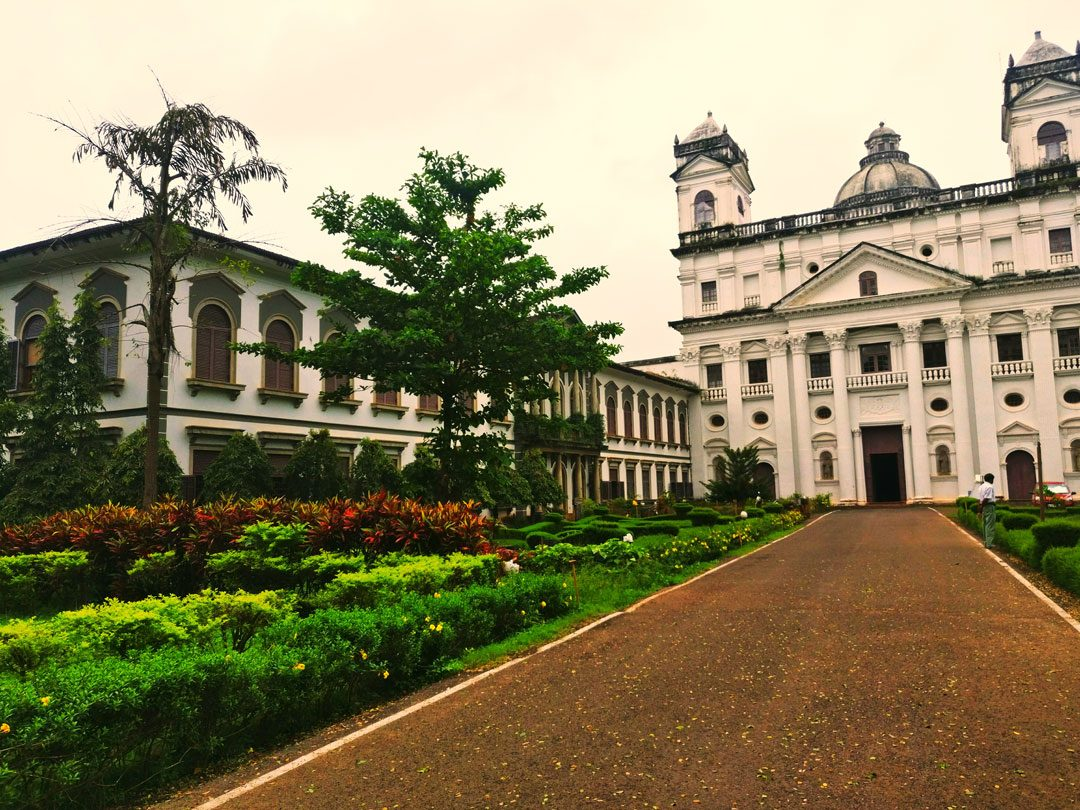 St. Cajetan's church Old Goa