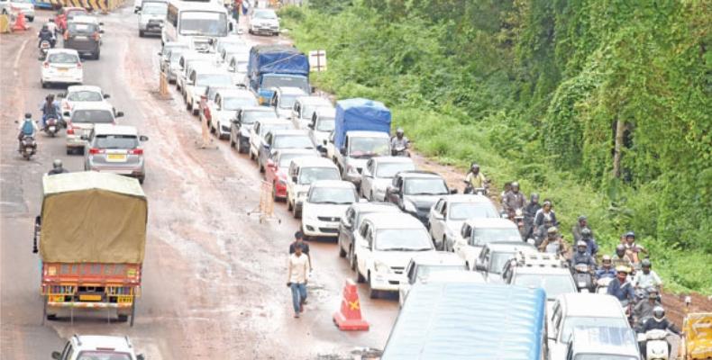 Panjim-Margao traffic