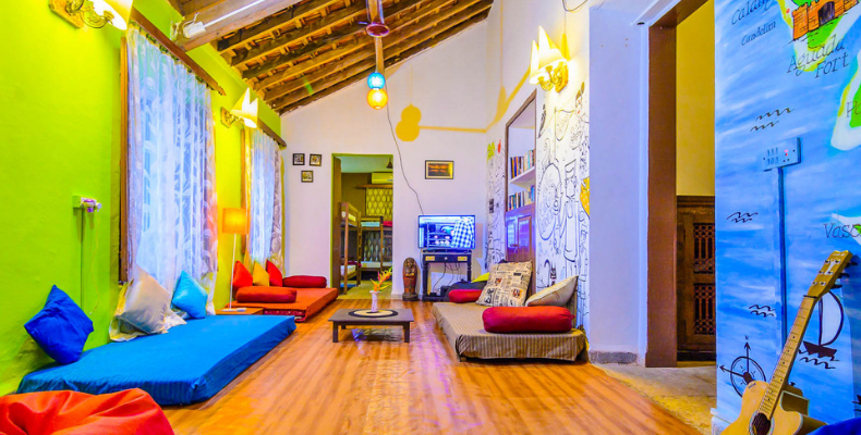 Zostel, Calangute is one of the popular hostels in Goa