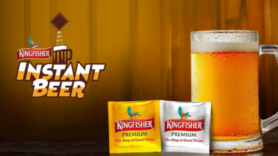 Kingfisher Instant Beer