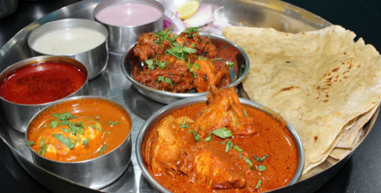 Sartaj Chicken Thali